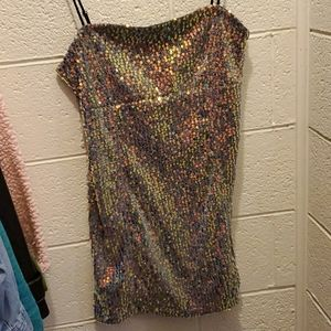 Urban Outfitters sparkly mini dress